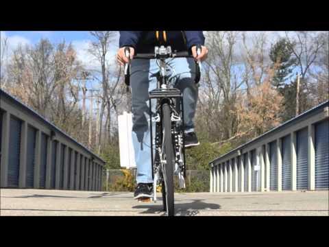 UB architect's bicycle-based weather station