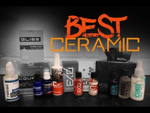 The best ceramic coating for cars - Ceramic Coating Shootout