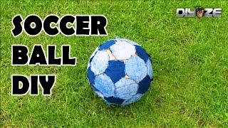 How to make a soccer ball ⚽ football at home