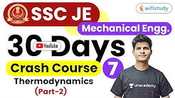 8:00 PM - SSC JE 2019 | Mechanical Engg. by Neeraj Sir | Thermodynamics (Part-2)