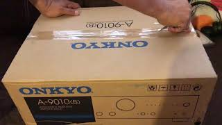 UNBOXING |ONKYO A-9010(B)