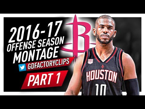 Chris Paul NASTY Offense Highlights Montage 2016/2017 (Part 1) - Welcome to Houston Rockets!