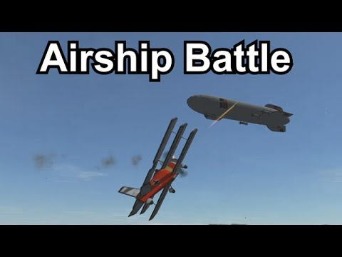 KSP - Airship Battle