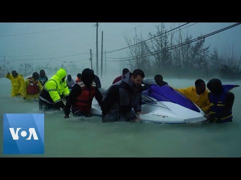 Locals Aid in Rescue Efforts as Hurricane Dorian Departs Bahamas