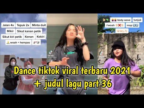 Dance Tiktok Viral Terbaru 2021 + Judul Lagu Part 36