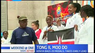 Kenya bags 20 medals in the Tong IL Moo Do championship