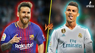 Cristiano Ronaldo VS Lionel Messi 201718  Masterpiece 2018  Epic battle  HD 1080p