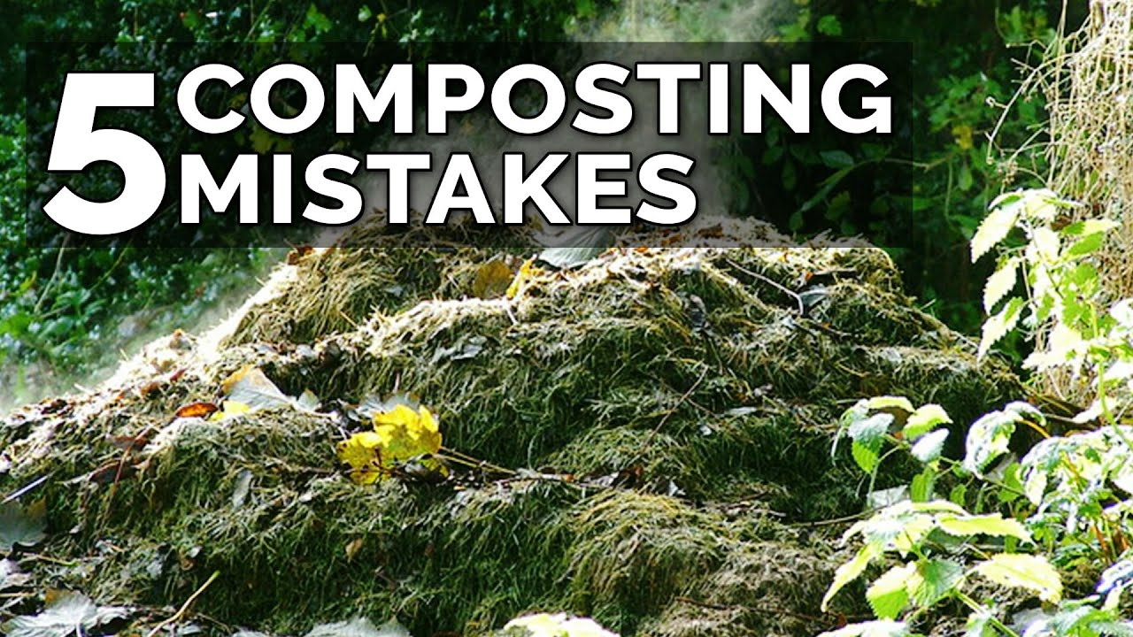 5 Hot Composting Mistakes to Avoid