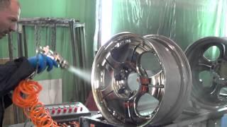 Покраска дисков (метахром)