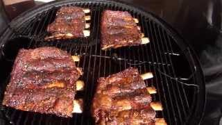 Smoked Beef Ribs  TruBBQtv