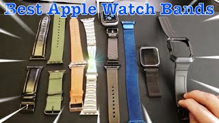 Here is A review of my top best favorite replacement Apple Watch bands. I have the Series 4, 4mm but many of these comes in all series 1, 2, 3, and 4 with all ...