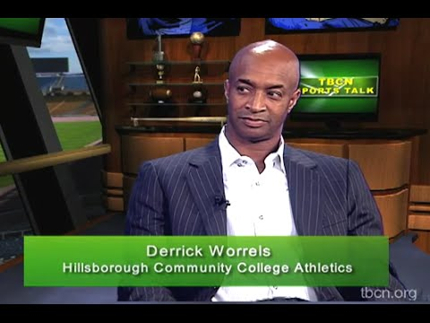 TBCN Sports Talk: Derrick Worrels, Hillsborough Community College Athletics