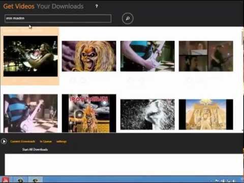 Windows 8 Video Downloader
