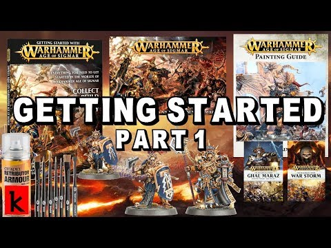 GETTING STARTED with Age of Sigmar : Warhammer Guide Part 1