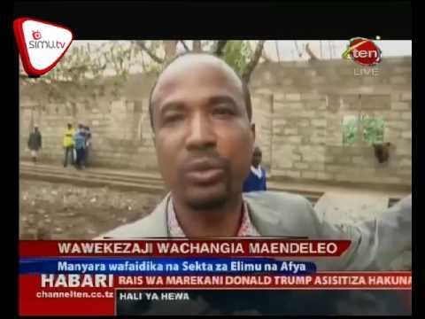 Wawekezaji Wasaidia Miradi Ya Maendelo Manyara
