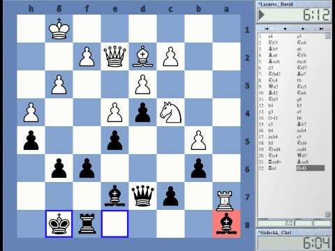 CE playing Mallorca Open Rd 1 David Lazarte 1857 vs Christof Sielecki Ruy Lopez Deferred Exchange