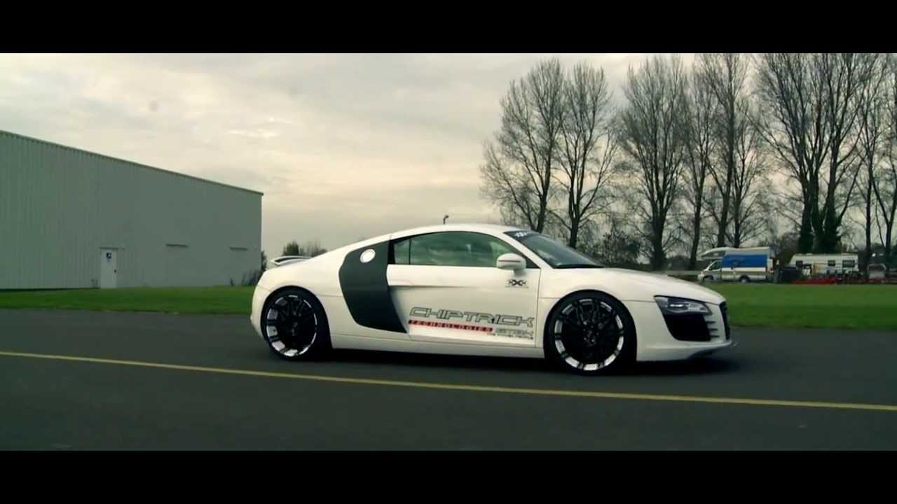 Oxigin 14 Oxrock Alufelge White Foliert Audi R8 Youtube