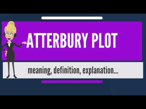 What is ATTERBURY PLOT? What does ATTERBURY PLOT mean? ATTERBURY PLOT meaning & explanation
