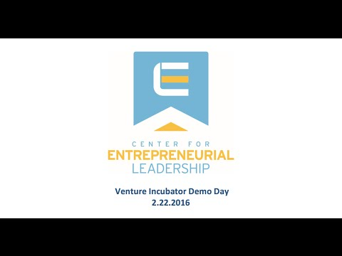 CEL - Venture Incubator Demo Day (2/22/2016)