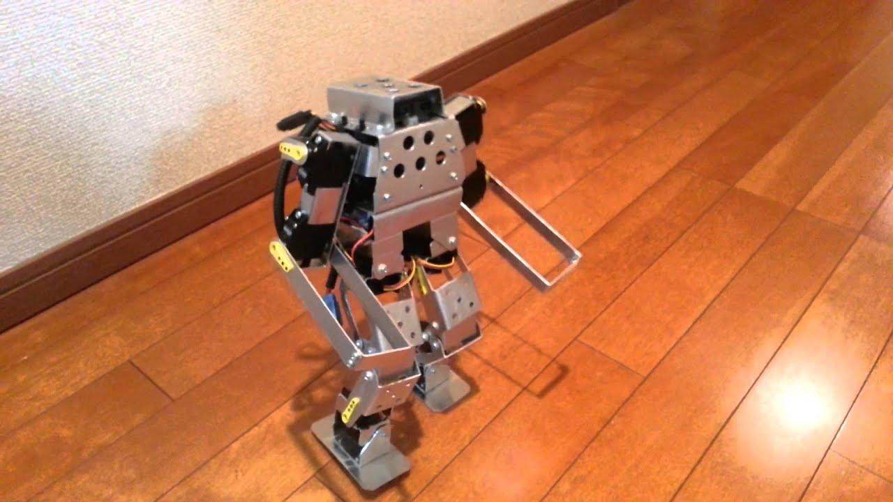Arduino unoで二足歩行ロボット♪ doovi