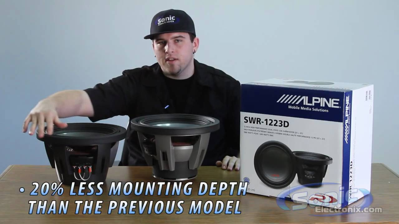 maxresdefault alpine type r car subwoofer swr 1223d youtube alpine swr-1243d wiring diagram at webbmarketing.co