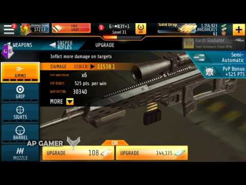 kill shot bravo mod apk unlimited money and gold