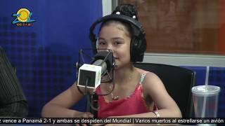 La niña Cristina Rodríguez nos sorprende con su talento y sus canciones Elmismogolpe