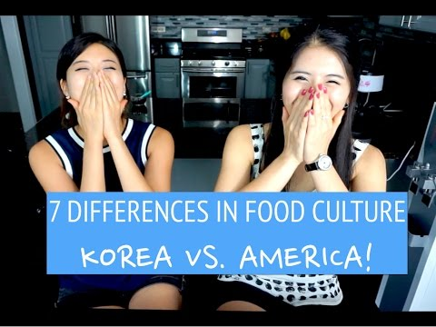 7 Differences in Food Culture: Korea vs. America | DIANE SPE