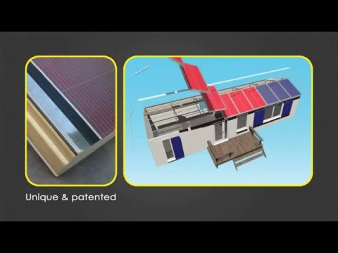 Mobile Solar Home – The only energy generating mobile home!