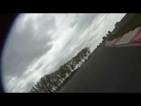 Luca Tommasini circuito SLOVAKIA RING 2012 Triumph Daytona 675 onboard