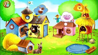 Kids farm - learn animals for children! Educational game