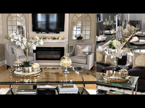 FALL GLAM HOME DECOR TOUR 2018 | COLLAB MELISSA EMELY