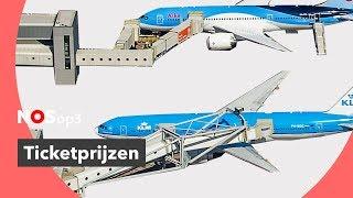 Zo is de prijs van je vliegticket opgebouwd