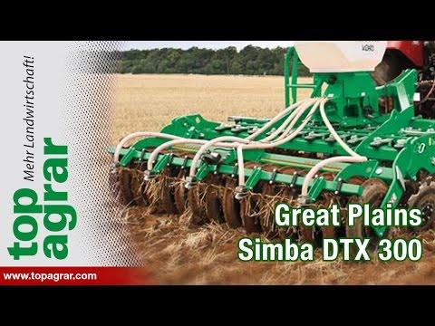 Great Plains Simba DTX 300 überzeugt im top agrar-Test