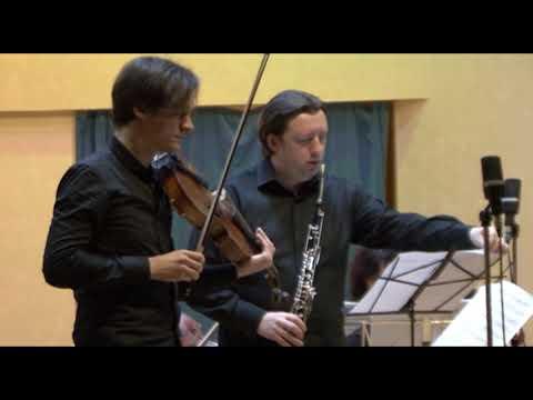Московская осень 41  Intimate Conversation для английского рожка, альта и камерного оркестра  Симеон