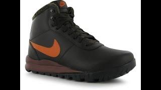 Обзор Зимние кроссовки ботинки Nike Hoodland