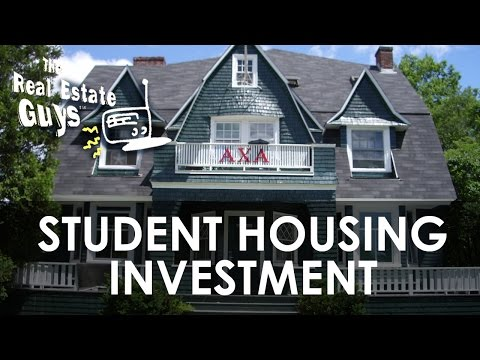 Going to School on the Student Housing Investment Market