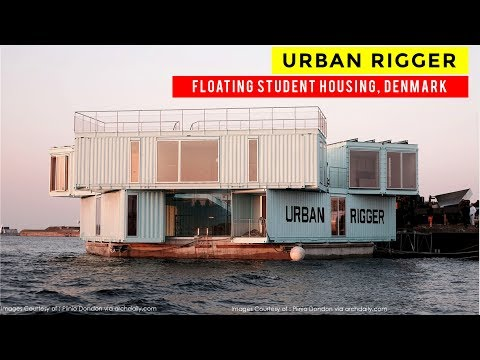 Urban Rigger | Floating Shipping Container Housing for Students in Denmark by Bjarke Ingels Group