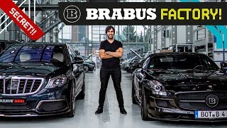 Brabus Factory! Loudest, Fastest, Widest Custom AMG Beasts!!