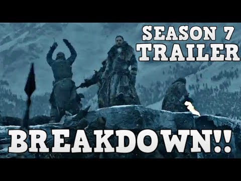 Game of Thrones Season 7 Trailer 2 Breakdown and Analysis (Explained)