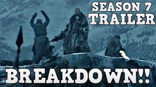 Game of Thrones Season 7 Trailer 2 Breakdown and Analysis (Explained)