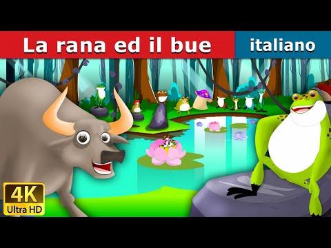 La rana ed il bue | Storie Per Bambini | Favole Per Bambini | Fiabe Italiane