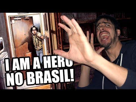 I AM A HERO: O MELHOR MANGÁ DE ZUMBI CHEGA AO BRASIL! 😱