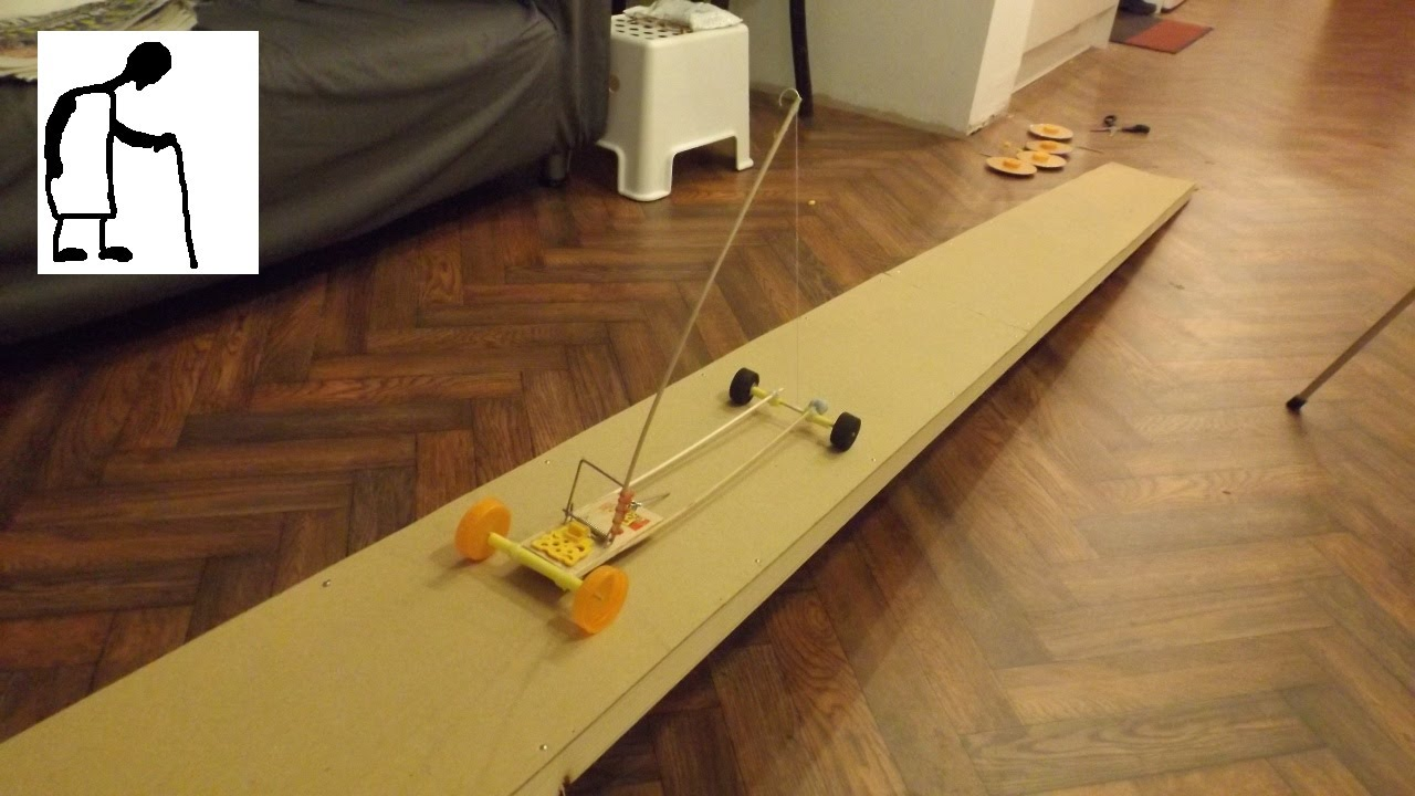 mouse trap powered car goes up a slope youtube. Black Bedroom Furniture Sets. Home Design Ideas
