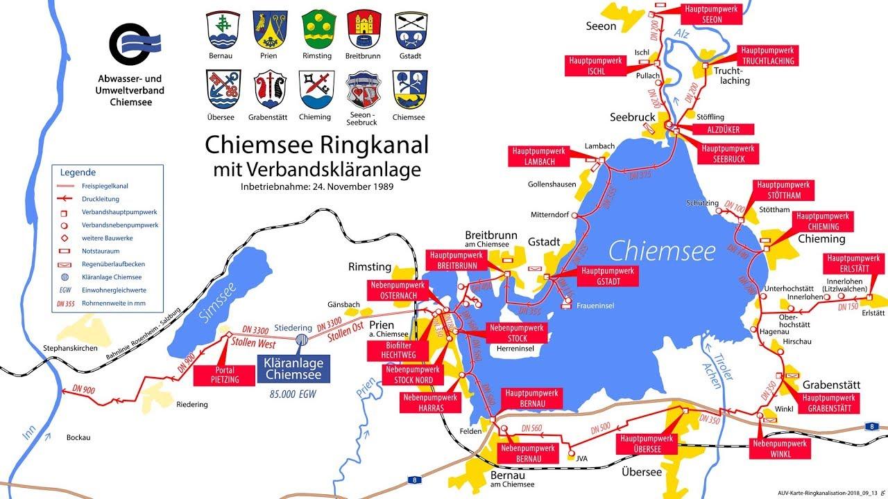 Chiemsee Karte Pdf.Abwasser Und Umweltverband Chiemsee