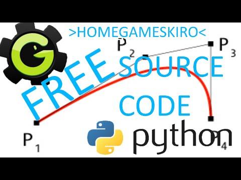 Bezier Curve- GML-Python source code