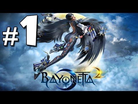 Bayonetta 2 Walkthrough (Part 1) - Love at First Play: Intro & Prologue [Let's Play]