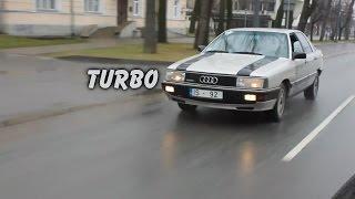 Илья и Audi 200 turbo quattro ( Автолюбители Латгалии )