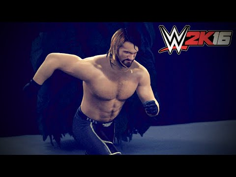 WWE 2K16 ENTRANCE BREAK IN John Cena vs Seth Rollins (New Gameplay)