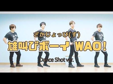 【踊ってみた】雄叫びボーイ WAO! / Berryz工房【ざかじょっぴ(す)】